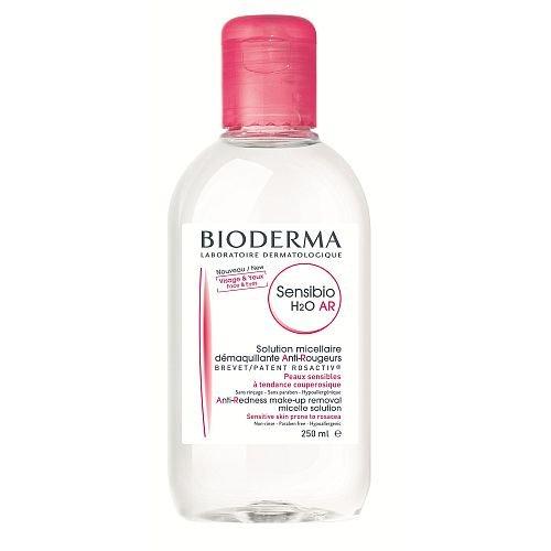 Empfindliche Haut-reiniger (BIODERMA H2O Sensibio MICELLARE AR Variante, Täglich Reiniger 250ML Anti-Rötungen Mizellenlösung empfindliche Haut zu Rosazea)