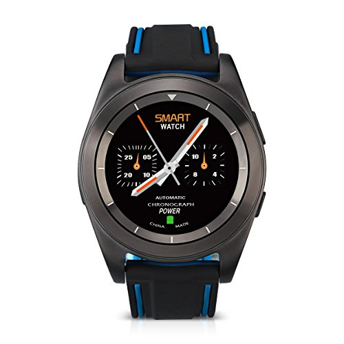 No.1 G6 Intelligente Heart Rate Bracciale Sport Fitness Tracker Sonno Quality Monitor PSG Chiamata / Notifica Promemoria Per Android e IOS(Blu+Nero)