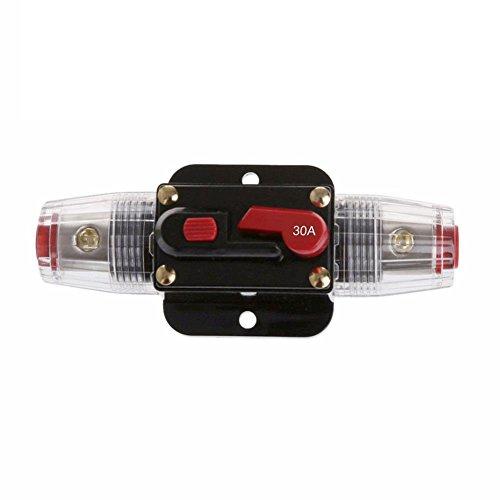 12V DC Auto Audio Inline-Schutzschalter Auto Reset Sicherungshalter (30A) - Asiproper - Installieren Circuit Breaker 30a