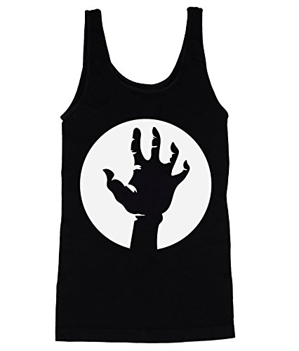 White Hand Of The Rising Dead Human In Black Men's Männer Tank Top Shirt XX-Large (Halloween Top Kills 20)