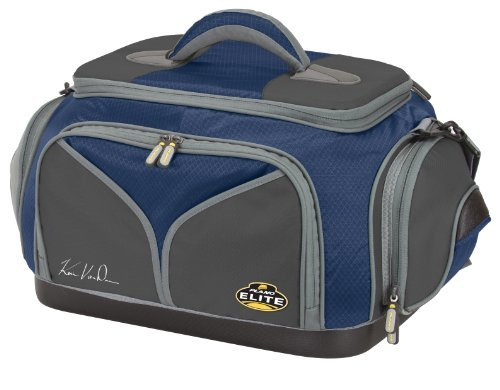 Plano 4870-40 Elite Kevin Van Dam Signature Series Tackle Bag with 5 Utilities, Blue/Gray by Plano -