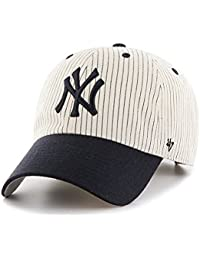 f8c5e088082aee '47 Brand Clean Up York Yankees Pinstripe Home Run Two Tone Adjustable Cap.  '