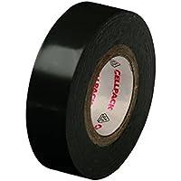 Cellpack, No. 128, dimensions 10m x 19mm x 0,15mm (longueur x largeur x épaisseur), noir, Ruban d'isolation électrique en PVC