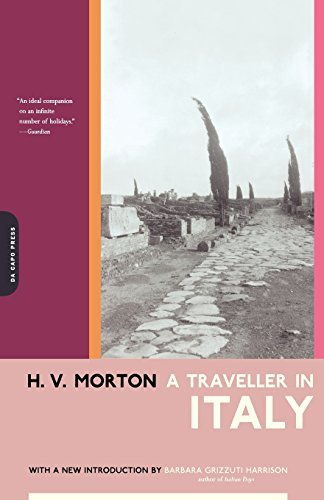 A Traveller In Italy by H.v. Morton (2002-03-01)