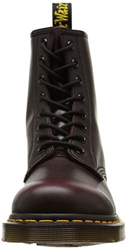 Dr. Martens 1460 Smooth, Stivaletti Unisex – Adulto Rosso (Red Vintage)