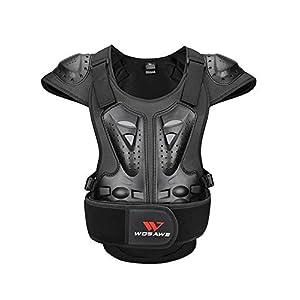 D.ragon Schutzweste Erwachsene Brustschutz Reiten Ski Skateboard Skating Schutzausrüstung, Motorrad Rüstung Jacke Biker…