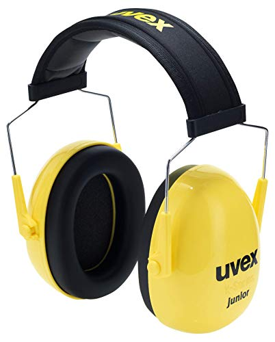 Uvex K Junior Kapselgehörschutz für Kinder - Gelb-Schwarz - 29 dB Dämmung