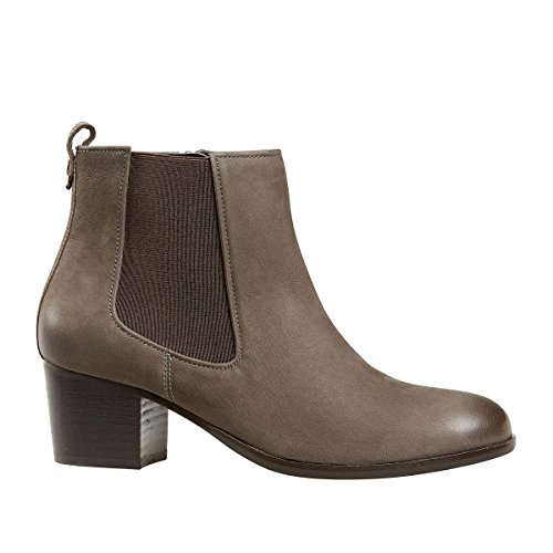 Van Dal Shoes Womens Cato Boots in Anthracite / contrast gusset