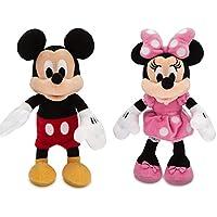 Disney Mickey Mouse e Minnie Mouse Peluche Pequeño Set 20cm