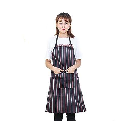 LissomPlume verstellbare wasserdicht Schürze latzschürze kochschürze Grillschürze küchenschürze Kochbekleidung
