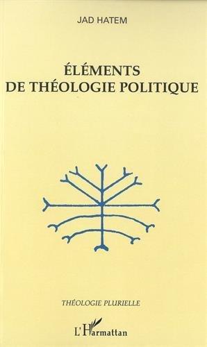 Eléments de théologie politique