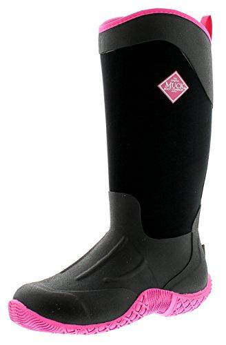 Muck Boots Tack II Tall, Bottes en Caoutchouc de Sécurité Femme, Noir