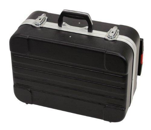 Ks tools 850.0530 valigetta rigida in abs con trolley telescopico rimovibile, 435x310x160 mm