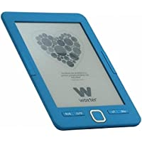 """Woxter E-Book Scriba 195 Blue - Lector de Libros electrónicos 6"""" HD (800x600)(E-Ink Pearl Pantalla más Blanca), Color Azul"""