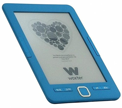 Woxter Scriba 195 6 E-Book-Reader, 4 GB, E-Ink, blau