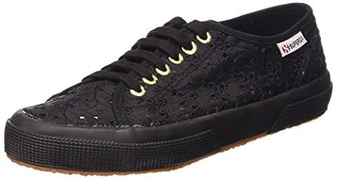 Superga 2750 Sangallosatinw Damen Sneaker, Nero (Schwarz), 40 EU