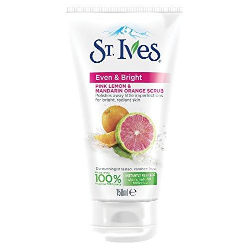 St. Ives Even & Bright Pink Peeling, Zitrone & Mandarine, Orange (St Ives Gesichtspflege)