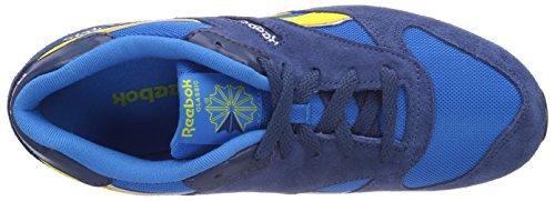 Reebok GL 2620 Sneakers Unisex Bambini Blu (Enrgy Blue/Btk Blue/Stngr Yllw/Wht/Blk)