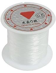 TOOGOO(R) 41Lbs Capacite 0,5 mm Diametre Clair Peche Nylon Cordon de Ligne Bobine