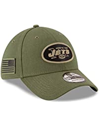new style 8b774 07997 New Era New York Jets 39thirty Stretch Cap On Field 2018 Salute to Service