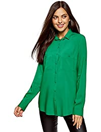 Amazon.fr   vert emeraude - T-shirts, tops et chemisiers   Femme ... 69f50b69d66
