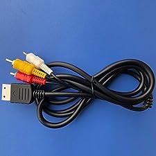 Cavo AV per Sega Dreamcast novità Console Audio Video Composito RCA Cavo 1,8 M