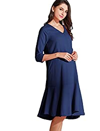Sweet Mommy Maternity and Nursing Free Fit Baby Shower Dress