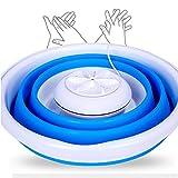 MWJK® Ultraschallreiniger: Tragbare Ultraschall-Mini-Waschmaschine, ideal auf Reisen & zu Hause (Ultraschall Wäsche Waschen)