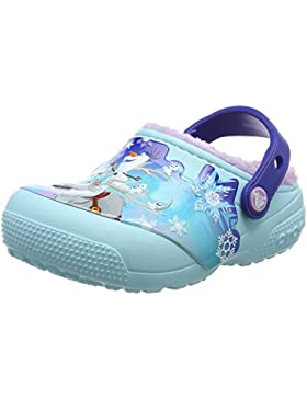 crocs Mädchen Fun Lab Lined Frozen Clog