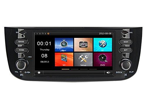 GPS USB SD Bluetooth autoradio navigatore Fiat Punto Evo 2012, 2013, 2014, 2015