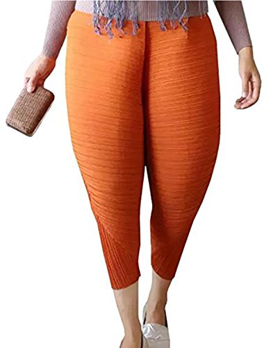 Ansenesna New Women's Chicken Bein Pants Neuheit Solid Loose Pants Leggings (L, (Kleinkind Pink Lady Kostüm)