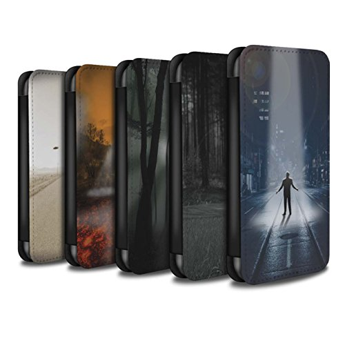 Stuff4 Coque/Etui/Housse Cuir PU Case/Cover pour Apple iPhone 6S+/Plus / Armageddon/Récolte Design / Extra-Terrestre Collection Pack 5pcs