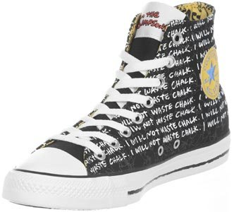 Converse Chucks Simpsons - CT HI 141391 - White-Multi Schwarz (Simpson)