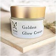 Avani Skincare Golden Glow Face Cream With Almond Oil, Aloe Vera Gel & Saffron For Women(50