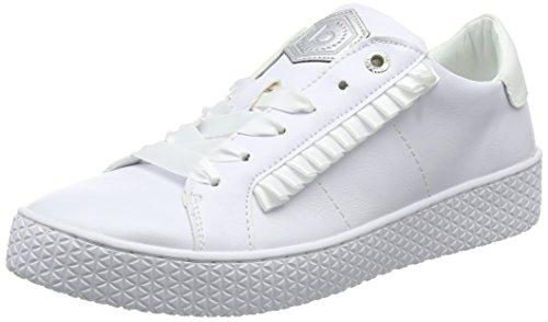Bugatti Damen 422525035900 Sneaker, Weiß (White 2000), 38 EU