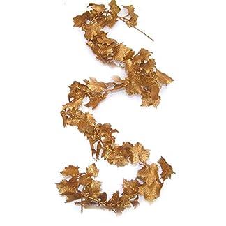Topdekoshop-Weinlaubranke-Weinlaubgirlande-Kunststoff-180cm-Gold-EDEL-DEKO-Girlande-Gold-Weihnachtsbaum-Schmuck-tolle-Raumdeko-DEKOverarbeiten-Weihnachtsdeko-5803