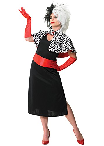 Erwachsene Disney Cruella De Vil Kostüm Medium (UK 12-14)