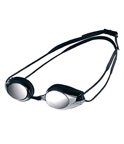 Schwimmbrille Verspiegelt (Arena Tracks Mirror Swimming Goggles - Mehrfarbig ( Black/Smoke_Silver))