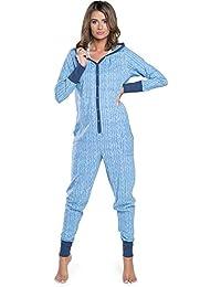 Italian Fashion IF Damen Jumpsuit Schlafanzug IF180012