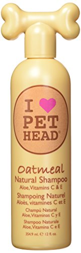 Pet Head 0850629004626 - Oatmeal (champu natural aloe vera) 354 ml