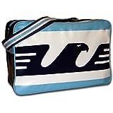 Calcio Italia 80s Lazio soccer Air Flight Retro airline messenger shoulder bag