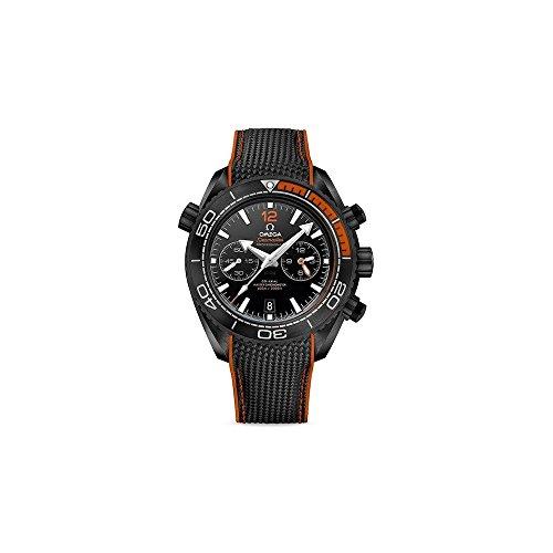 Omega Seamaster Planet Ocean 215.92.46.51.01.001 - Reloj para Hombre, Esfera Negra automática