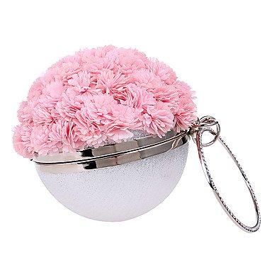 ZYT Damen Polyester Formell Alltag Veranstaltung / Fest Hochzeit Büro & Karriere Abendtasche blushing pink