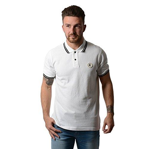 Converse -  Polo  - Uomo bianco Medium
