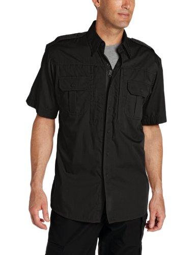 Basic Tactical Shirt (Propper Herren Tactical Shirt Kurzarm, Herren, schwarz, X-Small Regular)