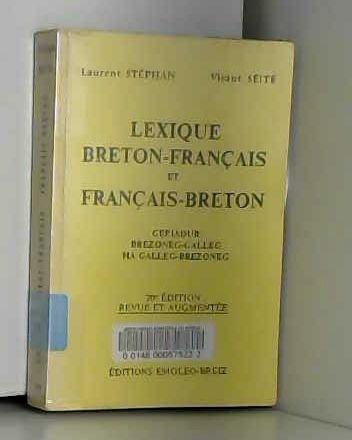 Lexique Breton-Français et Français-Breton.