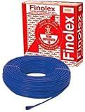Finolex 1 Sq mm PVC Insulated Cable Wire 90 m Coil (Blue)