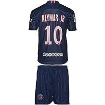 PSG Paris Saint Germain Neymar #10 2018/19 Heim Trikot und Shorts Kinder und Jugend Größe