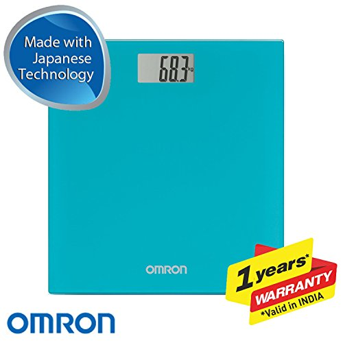 Omron HN-289 Digital Weighing Scale (Blue)