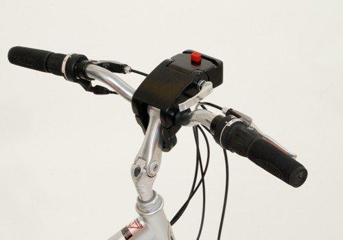 Großer Designer Hunde- Fahrradkorb / Hundetasche im Set mit solider Fahrradhalterung
